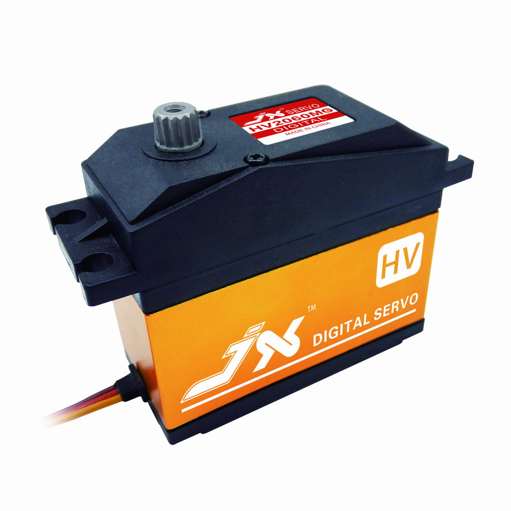 JX Servo/PDI - HV2060MG 60 kg/large torque/Baja/digital/gasoline steering gear / 180 degrees superior hobby jx pdi 6215mg 15kg high precision metal gear digital standard servo