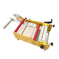 Cheap hand manual Labeling Machine for round bottles manufacturing price