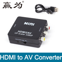 HDMI To RCA AV Converter HDMI To AV Adapter Android TV Smart Box Laptop Chromecast For
