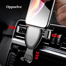 Universal Car Phone Holder For iPhone X 8 7 Samsung S9 Gravity Reaction Flexible Mobile Xiaomi