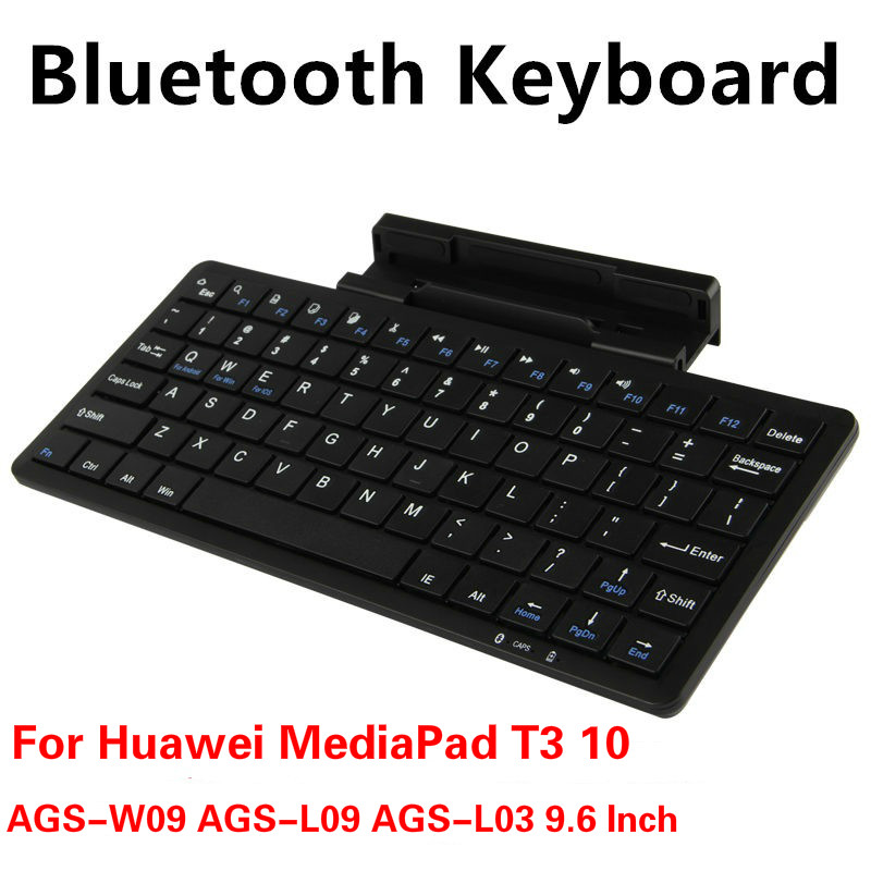 Wireless Keyboard For AGS-W09 AGS-L09 AGS-L03 9.6 Inch Bluetooth Keyboard For Huawei Mediapad T3 10 AGS-WO9 AGS-L09 AGS-L03 Case