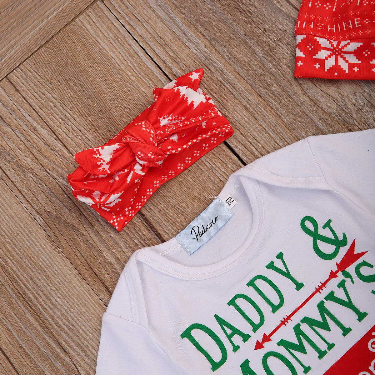5464d7039 Pudcoco Newborn Baby Girl Boy Infant Xmas Clothes Gift Romper+Christmas  Long Pants Outfit Set 0 18M-in Clothing Sets from Mother & Kids on  Aliexpress.com ...