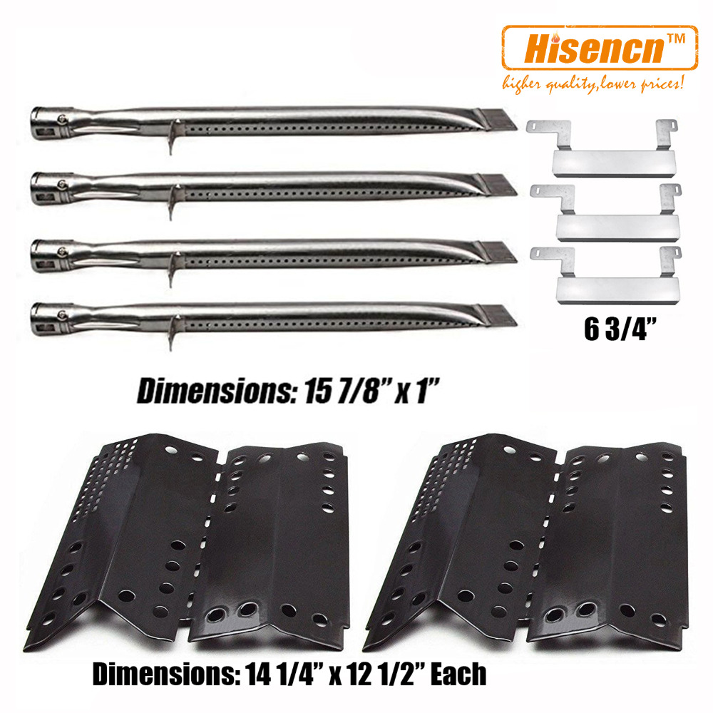 """Crossover Tube Replacement Parts for Charbroil Grill 15-7//8/"""" Gas Burner Pipe"""