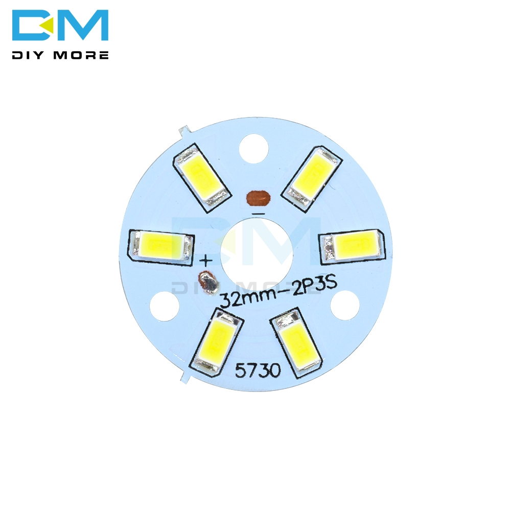 5PCS 3W 5730 White LED Emitting Diode SMD Highlight Lamp Panel LED Board