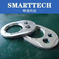 Custom Bicycle CNC Machine Parts Wire Electrode Cutting Polished