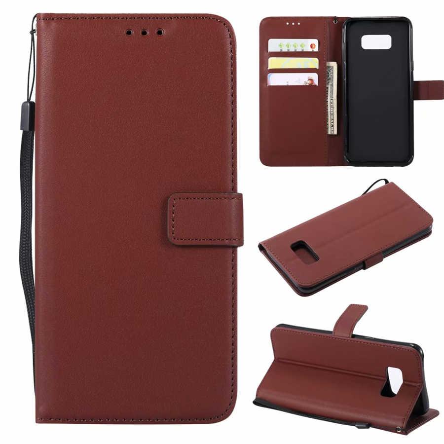 Dla A3 A5 A7 J3 J5 J7 2016 2017 Case skórzany portfel z klapką pokrywa dla Samsung Galaxy S8 Plus S6 S7 krawędzi S5 S4 S3 Grand Prime Coque