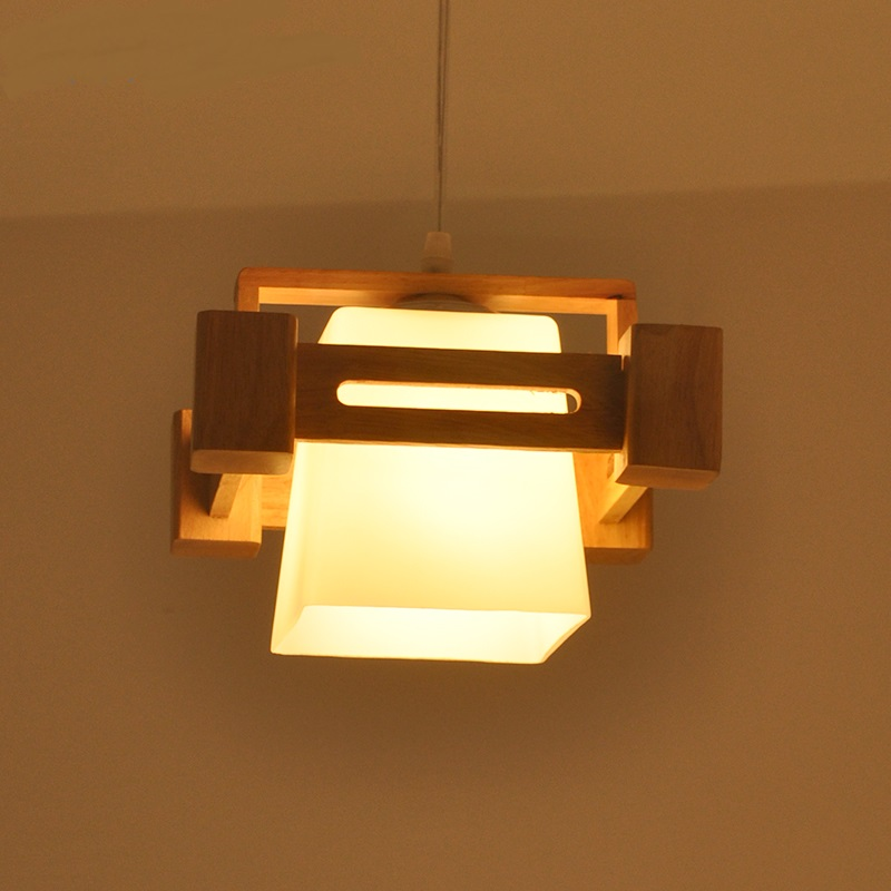 Solid Wooden pendant lights Simple Living Room Restaurant Bedroom Study Dining Chair Lifestyle Lighting pendant lamps ZA bamboo pendant lights rural chinese garden bedroom living room dining study teahouse light creative retro pendant lamps za zb12