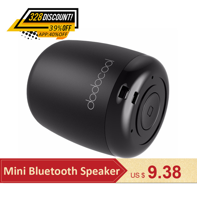 Dodocool Hoparlör bluetooth hoparlör Taşınabilir Stereo Handsfree Müzik Compute için Kare Kutu Mini kablosuz hoparlör Telefon PC