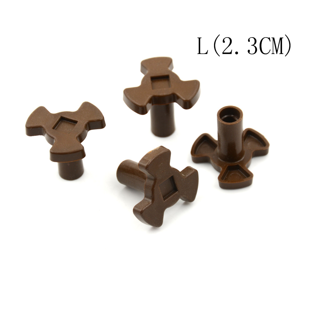 4Pcs Universal Turntable Coupler Guide Support Coupler Tray Shaft 1.7CM/2.3CM Microwave Oven Turntable Roller Tool Parts  - AliExpress