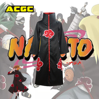 Osaili Japanse Cartoon Anime Naruto Akatsuki Red Cloud Geul Yahiko Pijn Itachi Deidara Tobi Symbool Cosplay Kostuum Geul