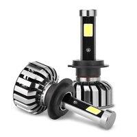 Super Bright Car Headlights N7 H7 1 Set 80W Set 40W Each Bulb CREE Chip LED