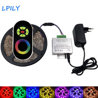 LPILY 15M SMD 3528 2835 RGB LED Strip Lighting Non Waterproof RGB Led Tape IP20 With