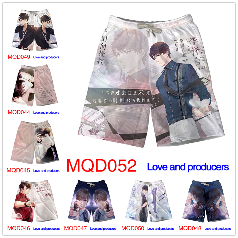 Love and producers Cosplay Dragon Ball All Super Saiyan Goku Print Men Mesh   Board     Shorts   Harajuku Quick Dry   Short   Pants M-3XL