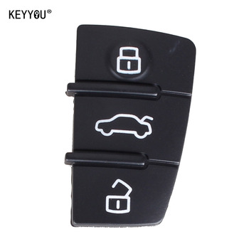 Chiave Telecomando per AUDI A3,A4,A5,A6,A8,Q5,Q7,TT S LINE RS Car Key Pad Rubber