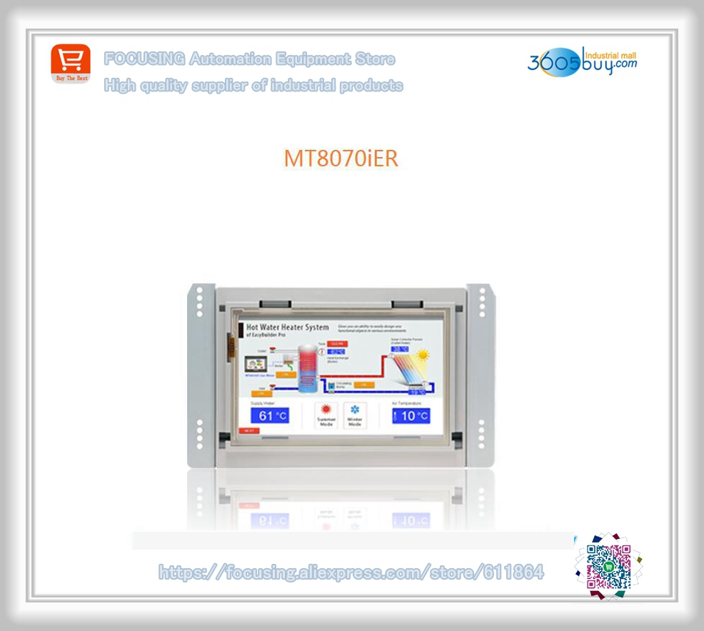 Orignal new in box fortouch panel MT8070iER HMI Warranty for 1 year new original telemecanique safety relay xpsaf5130 1 year warranty xpa af xpsaf5130 in box