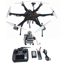 Assembled Full Set Drone RTF HMF S550 Frame GPS APM2 8 Flight Control with Compass AT10