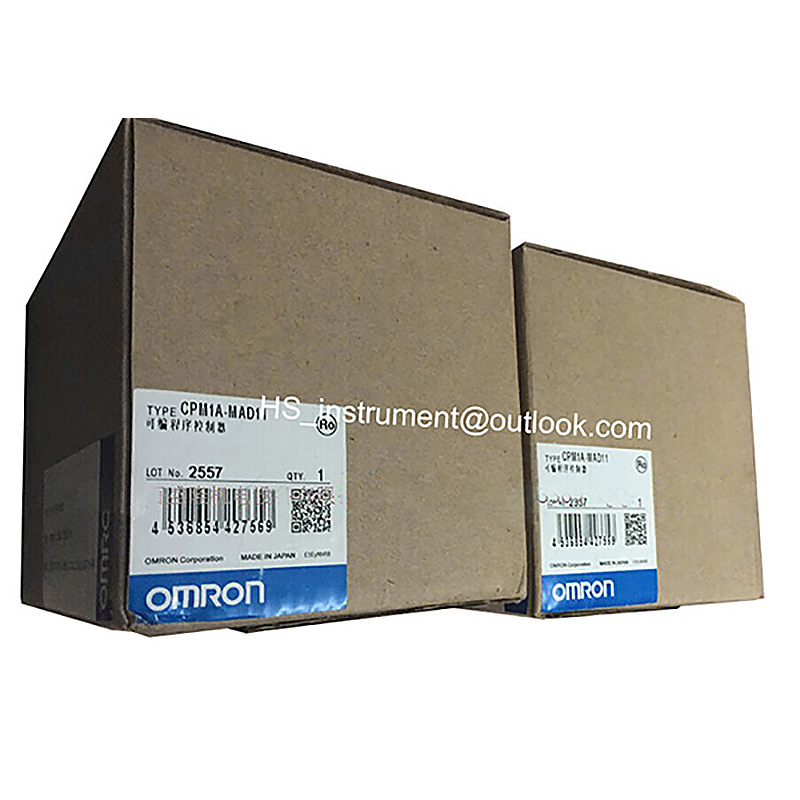 NEW ORIGINAL CPM1A-MAD01 Omron Analog I/O Module PLC CPM1A MAD01 omron plc terminal connectors are suitable for mitsubishi series q i o module with 1 m cable