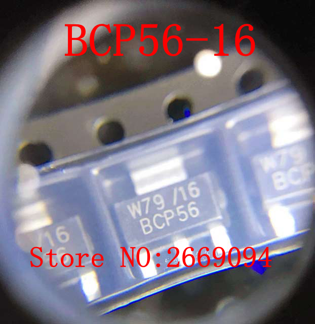 Video Games 1.5a Bcp56-16t1g Bcp56-16 Sot-223 New Original Making Things Convenient For The People Consumer Electronics Humble 100pcs /500pcs /1000pcs High Current Transistor 80v