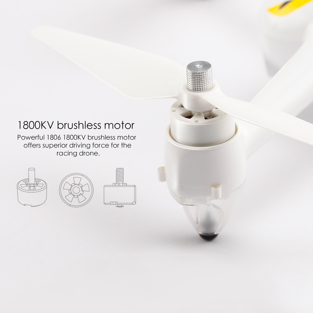 MJX Bugs 2C GPS RC Drone with Camera 1080P HD 2.4G 4CH 6-Axis Gyro Brushless Quadcopter Selfie Drone Quad Height Hold (10)