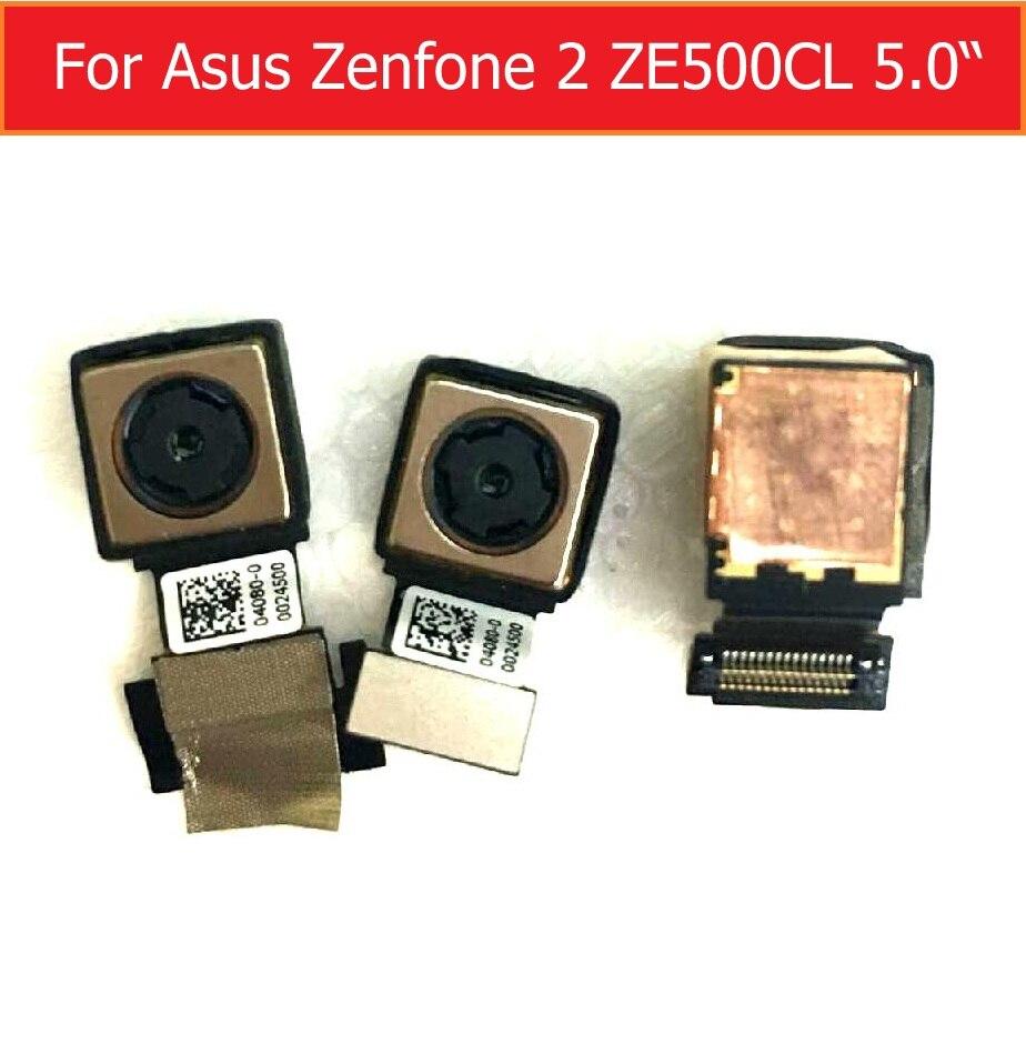 100 Genuine Rear camera for Asus Zenfone 2 ZE500CL Z00D 5 0 back camera big facing