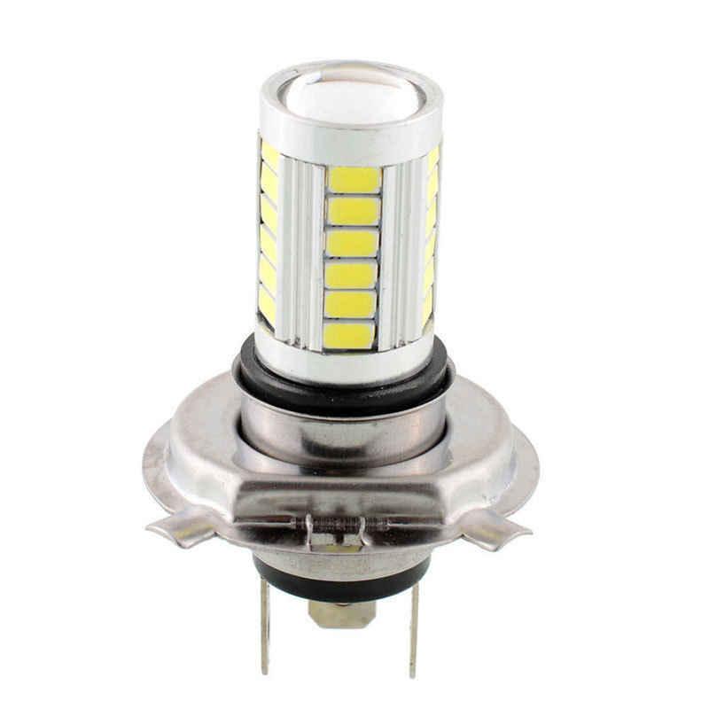 1 pc H4 HB2 9003 33-LED 33 SMD 5630 גבוהה כוח לבן 12 v רכב החלפת ערפל נורות hi/Lo קרן אחת