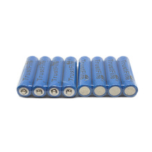 10pcs/lot TrustFire 3.7V TR10440 600mAh 10440 Rechargeable Lithium Battery with 1000 Cycle for LED Flashlight Headlamp 50pcs lot trustfire 3 7v tr10440 600mah 10440 lithium battery rechargeable batteries for led flashlights headlamps