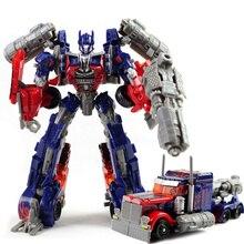 Enfriar los juguetes figuras de acción robot transformación super hero marca de coches kit modelo de plástico 3c juguetes para niños regalos para niños juguetes