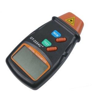 Image 4 - Kebidumei חדש כף יד ללא מגע לייזר תמונה טכומטר באיכות גבוהה דיגיטלי RPM Tach לייזר Tachometer מהירות מד