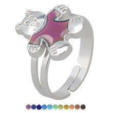 mood ring Opening adjustable child girl watch or women accessories for women gold ring