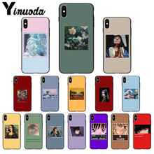 Yinuoda Great art aesthetic van Gogh Mona Lisa painting David soft TPU Phone Case for iPhone 5 5S 6 6S 7 8 Plus X Xs MAX XR