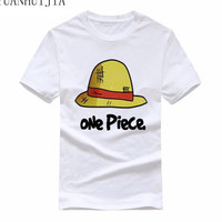 One Piece T Shirt 2017 Fashion Japanese Anime Clothing O Collar Pure Cotton T Shirt For
