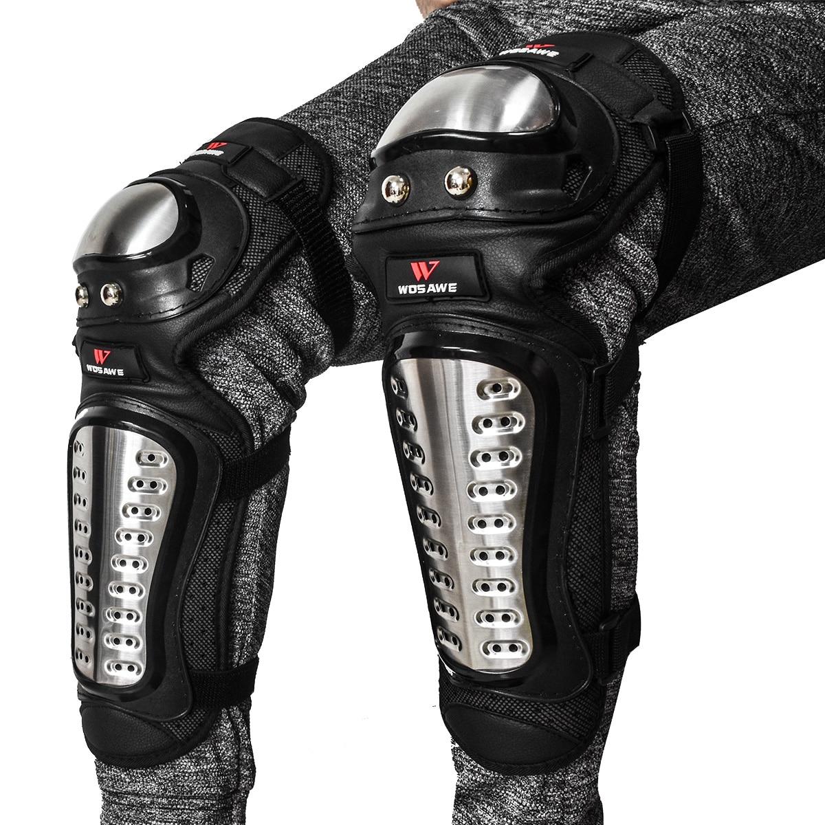WOSAWE nerūdijančio plieno apsauga kvėpuojantys motociklai šarvai DOWNHILL