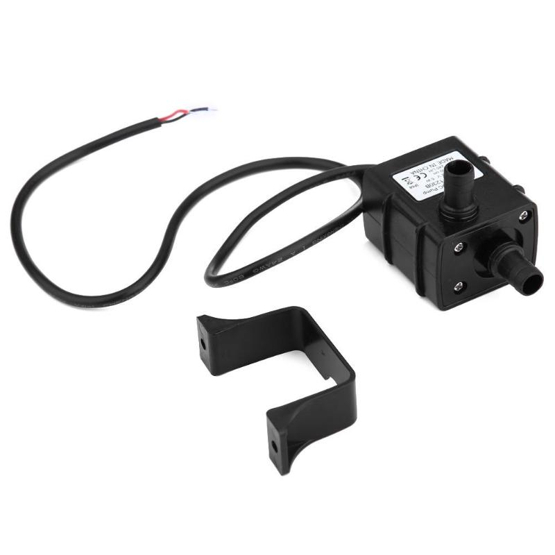 Waterproof Micro Water Pump Ultra-quiet Car Power Membrane Submersible Aquarium Pump 12 V 5 W 240L / H Brushless DC Micro Pump image