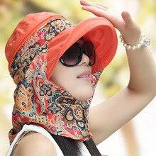 Summer Hats Visors-Cap Feminino Anti-Uv Outdoor Women New-Fashion for Chapeu Sun-Collapsible