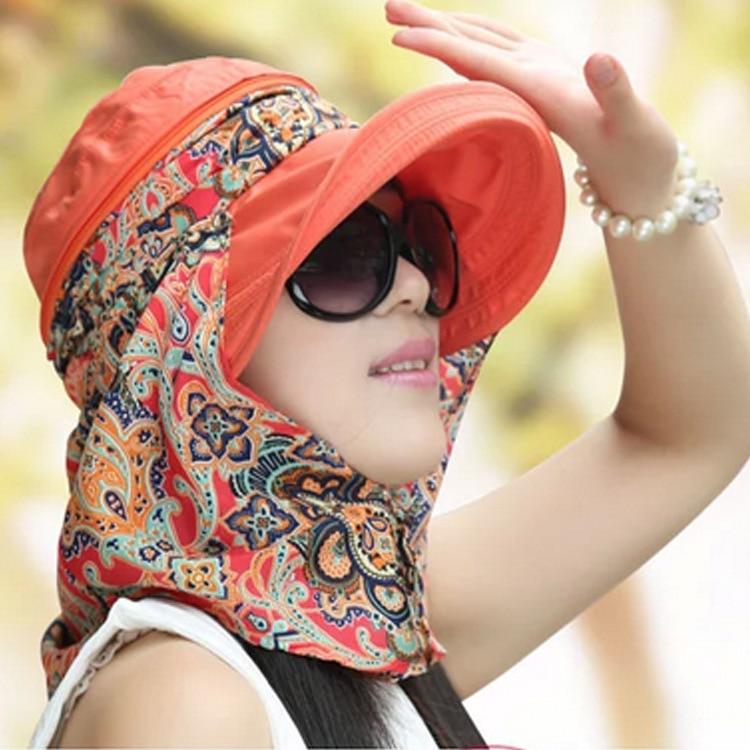 Free Shipping 2018 Summer Hats For Women Chapeu Feminino New Fashion Visors Cap Sun Collapsible Anti-uv Hat 9 Colors Outdoor