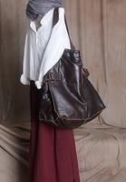 Бесплатная доставка натуральная кожа большие сумки осень и зима женский короткий 2016 одно плечо кросс боди мягкая кожа большая сумка