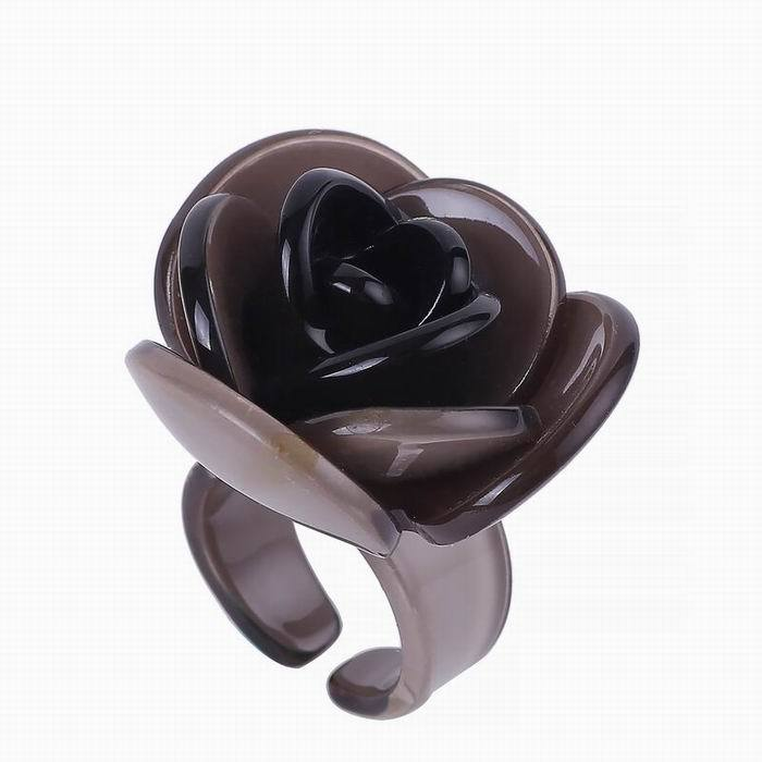 2017 Plant Party Trendy Real Sale Anillos Fashion Rose Ring Jewelry Vintage Rings Women Big For Acrylic Anel Bague Femme ...