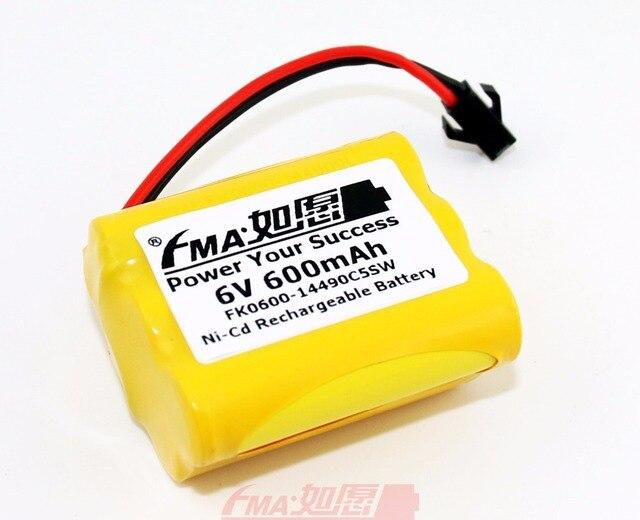 2pcs Ni Cd Aa 6v 600mah Rechargeable Battery For Led Solar Light Backup Toy