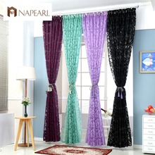Red Curtains Window Treatments Semi Blackout Curtains 3d Fashion Design  Modern Curtains For Living Room