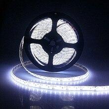 ¡ Venta caliente! 5 M/lote IP65 A Prueba de agua 3528 600 LED Cinta Cinta Luz de Tira 120led/m WarmWhite ColdWhite Azul Verde Rojo LED raya