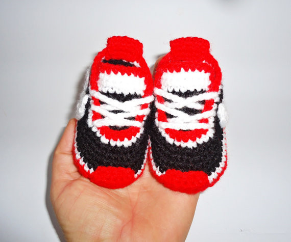 e2c4857b86 Handmade Baby Sneakers