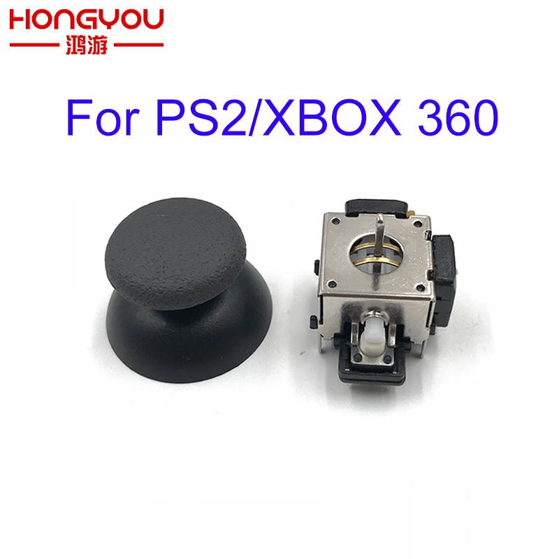 20pcs For Ps2 Controller 3d Analog Joystick Replacement Metal 3d Joystick Cap Analog Thumb Stick For Xbox 360 Controller Controler For Ps2 Controller For Xbox 360controller 360 Aliexpress