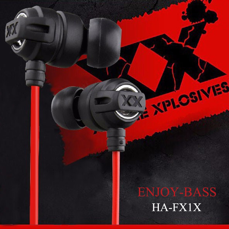 New HA FX1X Super Bass Stereo Earphones Headphones Headset Earbuds For Mobile Phone and MP3 and