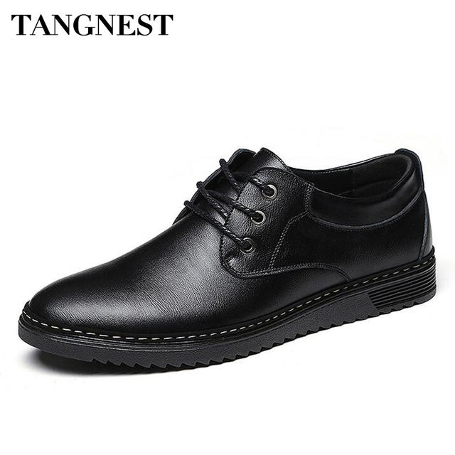 Hommes Homme Tangnest De Chaussures Solide Patchwork D'affaires U6q41Y6