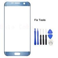 LOVAIN 1 UNIDS Original Genuina Para Samsung Galaxy S7 Borde G935 G935F Frente Lente de Cristal 5.5