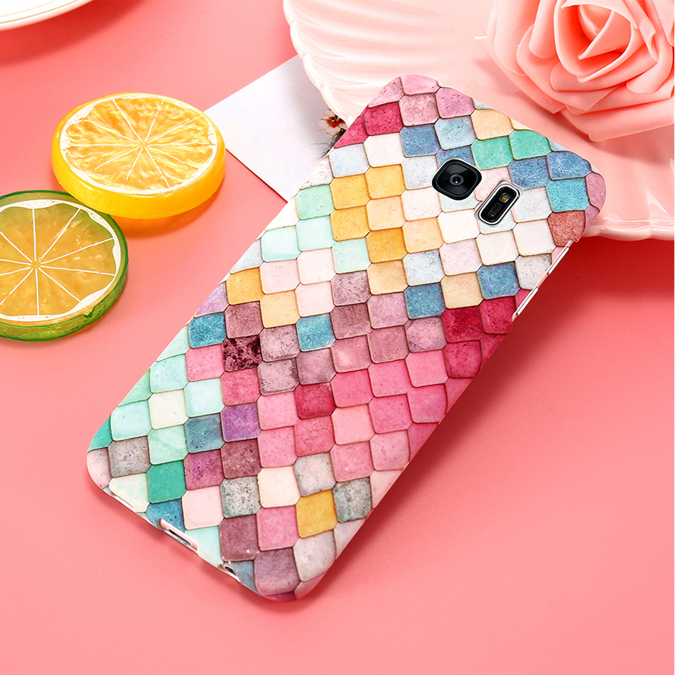 3D Scales Colorful Case For Phone 6 5 6S 7 Plus  (7)
