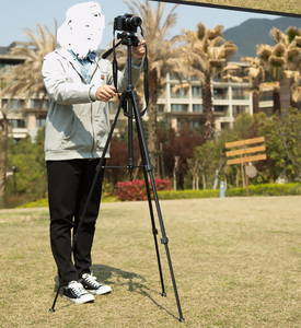 Image 5 - Trípode de foto soporte para cámara videocámara WF 3520 trípode negro tripe extensor para foto con mango bolsa de cabeza soporte de teléfono