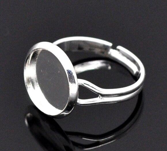 DoreenBeads 20 SP Semi-Precious Precious Ring Setting US 6.25 (B11003), yiwu