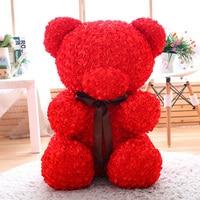 60cm unstuffed empty rose bear teddy bear soft toy skins shell coats animals Cheap Pirce Girlfriends Presents Gift Birthday