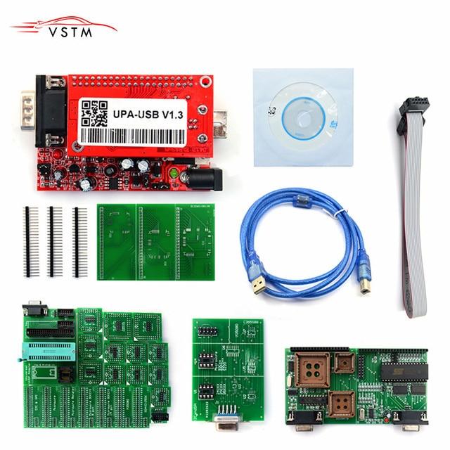 最高 upa 2018 Upa Usb プログラマの Ecu UPA USB ECU プログラマ UPA USB V1.3 フルアダプタと送料無料